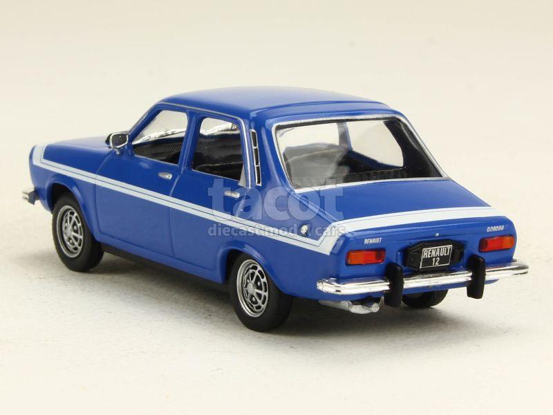 renault r12 gordini 1970 mod le presse at 1 43 autos miniatures tacot. Black Bedroom Furniture Sets. Home Design Ideas