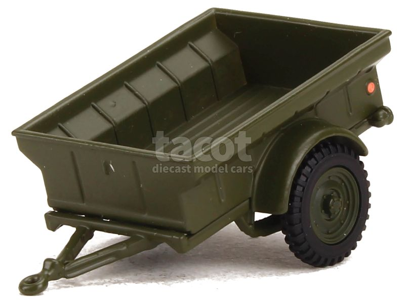 87673 Remorque 1/4 Ton USA Military 1944