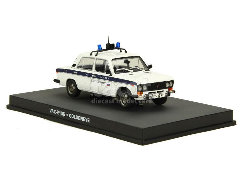 87674 Lada 2106 Vaz Police James Bond 007