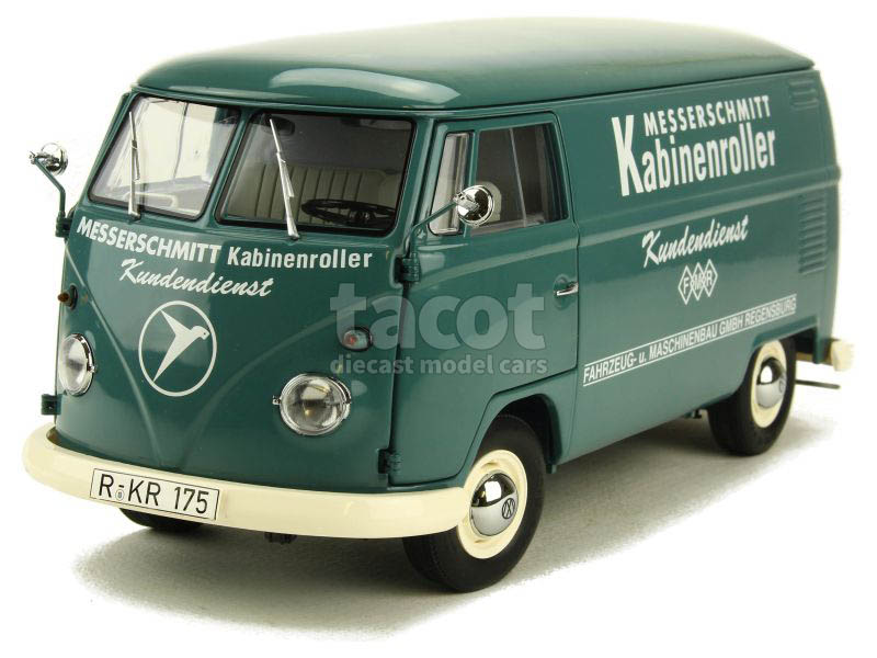 schuco volkswagen combi t1b van 1 18 4007864010523 ebay. Black Bedroom Furniture Sets. Home Design Ideas