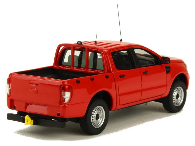 2016 Ford Ranger >> Ford - Ranger Pick-Up Pompier 2016 - Alarme - 1/43 - Autos Miniatures Tacot
