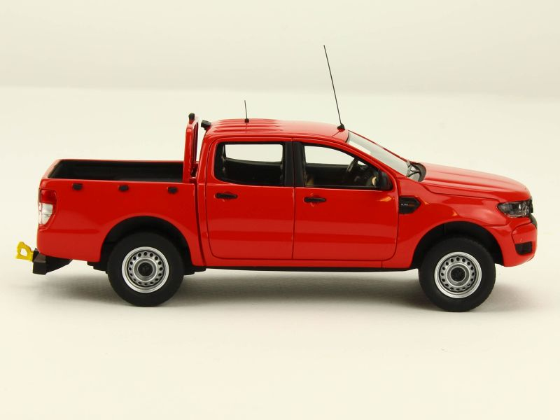 2016 Ford Ranger >> Ford - Ranger Pick-Up Pompier 2016 - Alarme - 1/43 - Autos ...