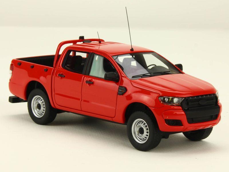 2016 Ford Ranger >> Ford - Ranger Pick-Up Pompier 2016 - Alarme - 1/43 - Autos ...