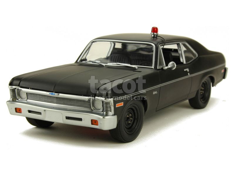 88542 Chevrolet Nova Police Rick Hunter 1970