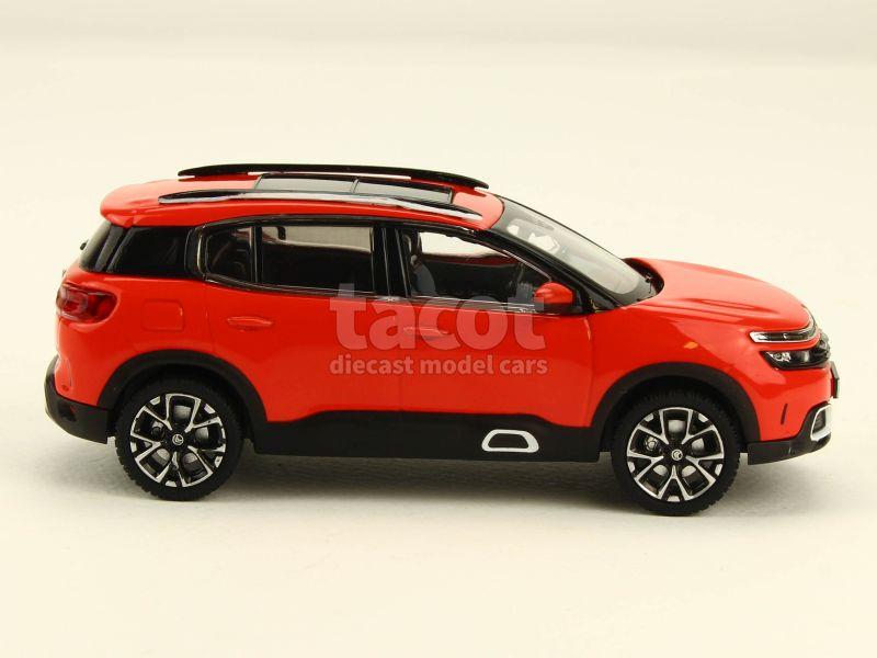 citro n new c5 aircross 2018 norev 1 43 autos miniatures tacot. Black Bedroom Furniture Sets. Home Design Ideas