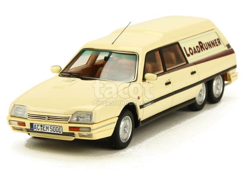 Citroen CX Loadrunner modèle rallongé crème 1989 1//43 Matrix