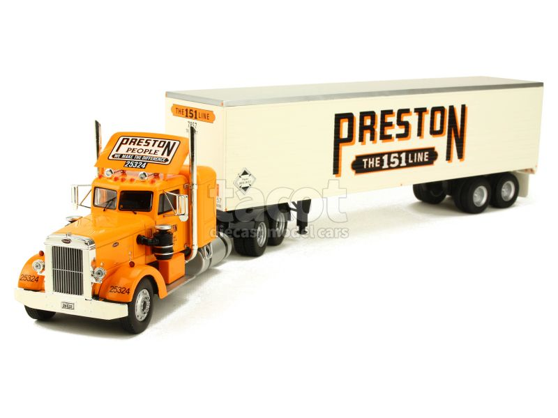88745 Peterbilt 350 Semi Preston People 1952