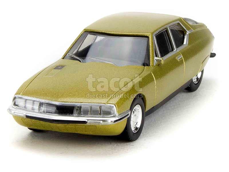 Citroen SM 1971 gold Modellauto 1:18 Norev