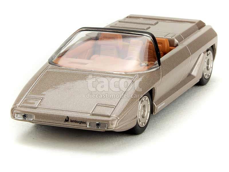 Lamborghini evoluzione listo el modelo-Cast escala 1:43