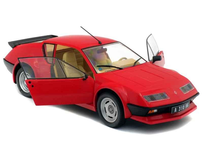 alpine a310 v6 pack gt 1983 solido 1 18 autos miniatures tacot. Black Bedroom Furniture Sets. Home Design Ideas