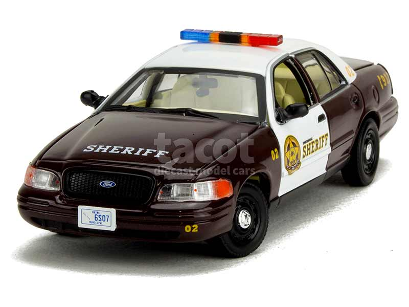 89421 Ford Crown Victoria Police Interceptor 2005