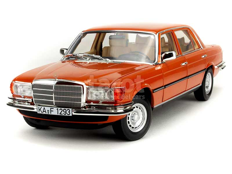 Norev 1:18 greenmetallic MB Mercedes Benz 450 SEL 6.9-1976