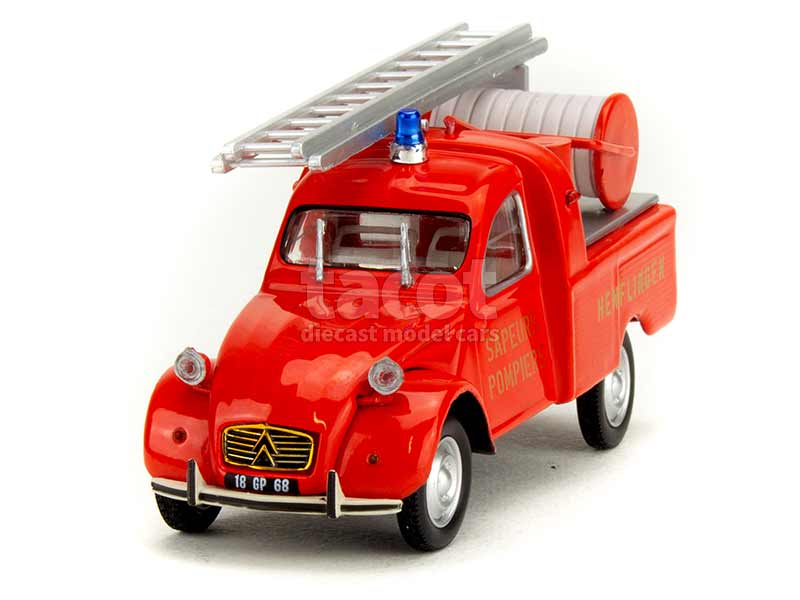 89799 Citroën 2CV AZU Pick-Up Pompiers 1963