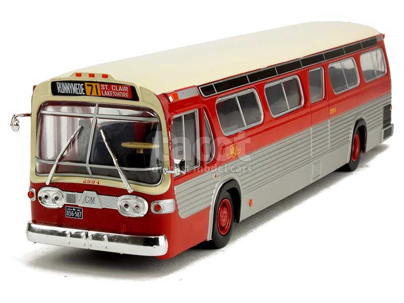 90229 General Motors TDH-5301 Bus Fishbowl 1959