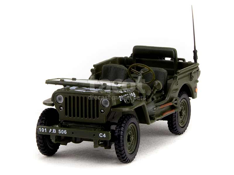 90254 Willys Jeep Militaire 6 Juin 1944