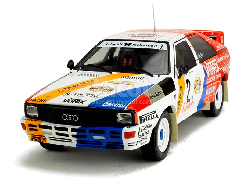 90372 Audi Quattro Rally Hunsruck 1984