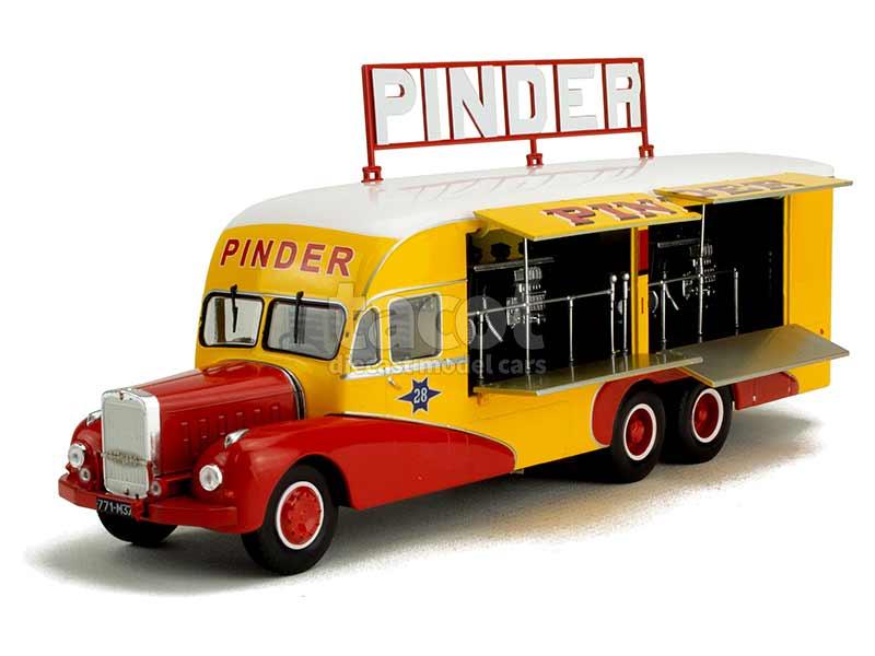 Camion BERNARD 28 centrale electrique 1951 1//43 EME IXO DIREKT CIRQUE PINDER