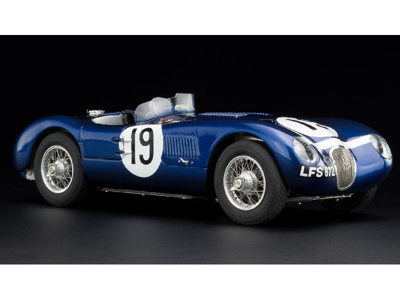 90732 Jaguar Type C Goodwwod 1954