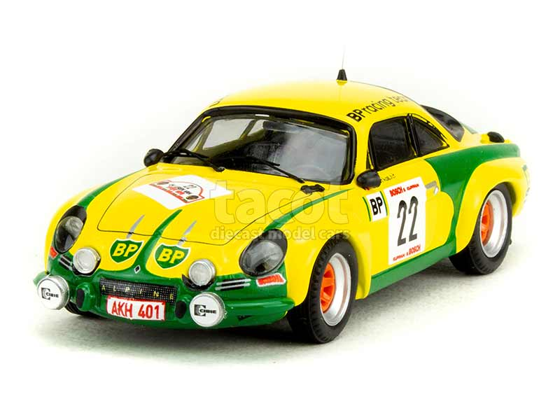 90784 Alpine A110 Rally Ypres 1976