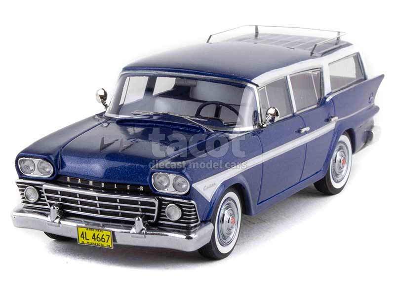 91006 AMC Rambler Cross Country 6 Station Wagon 1958