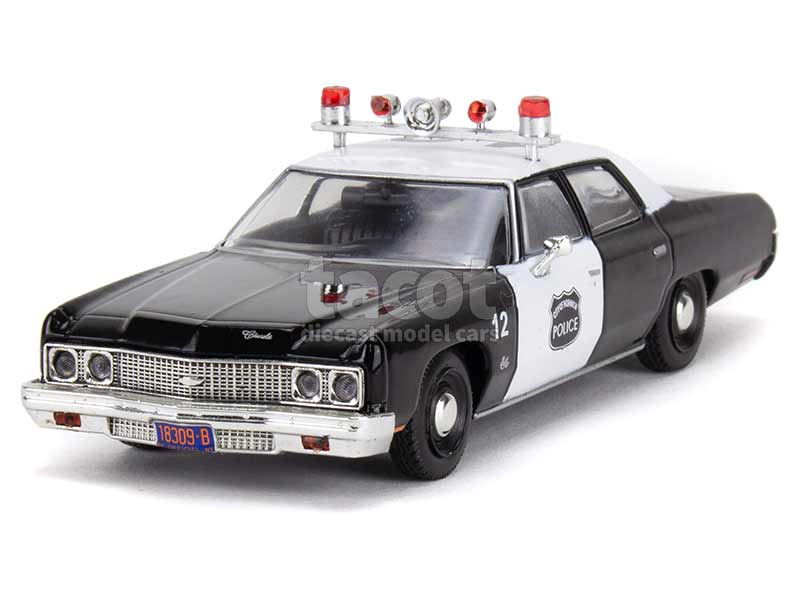 91376 Chevrolet Bel Air Police USA 1973