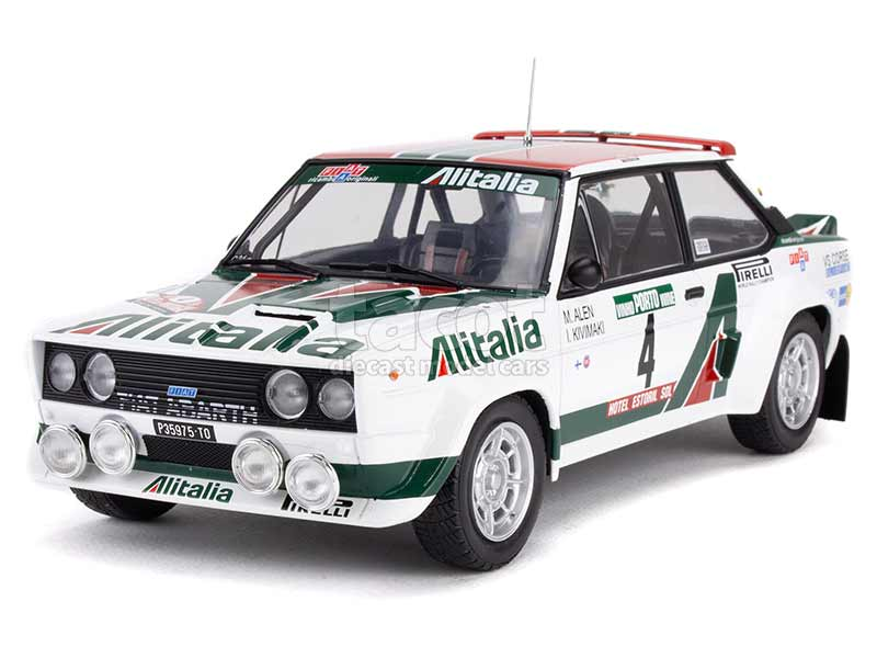 91409 Fiat 131 Abarth Portugal 1978