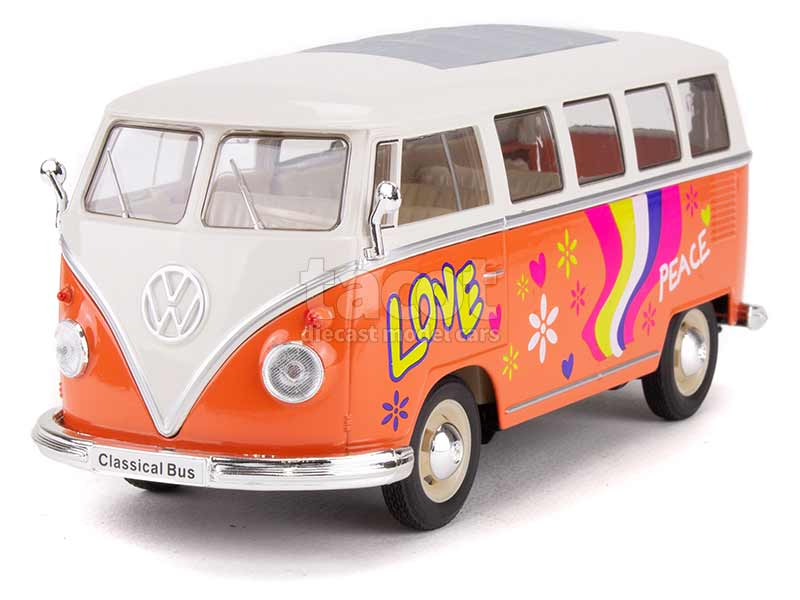91946 Volkswagen Combi T1 Bus Peace & Love 1963