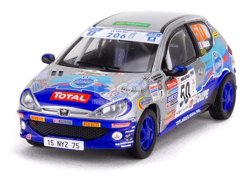 92294 Peugeot 206 XS Rally Terre des Cardabelles 2006