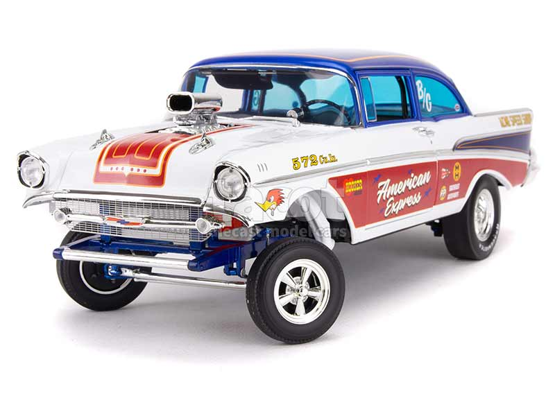 92910 Chevrolet Bel Air Gasser 1957