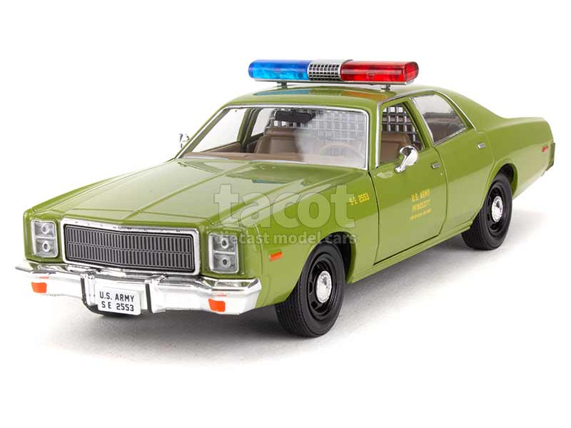 93551 Plymouth Fury US Army Police 1977
