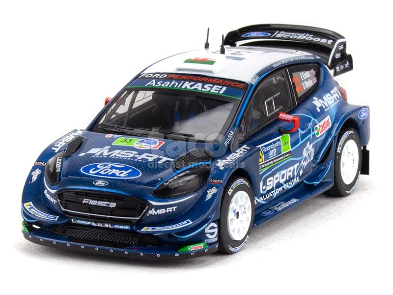 93833 Ford Fiesta WRC Mexico Rally 2019