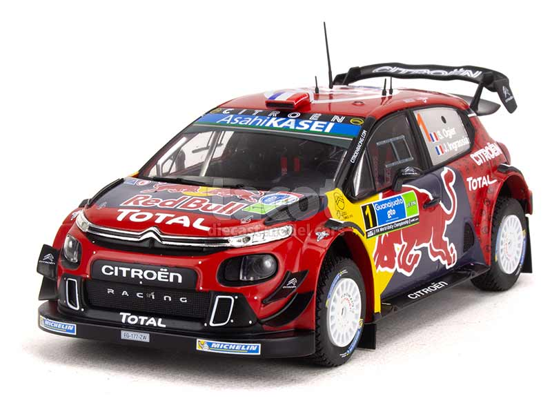 95681 Citroën C3 WRC Rally Mexico 2019