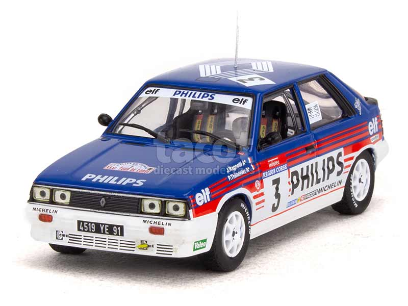 95684 Renault R11 Turbo Tour de Corse 1987