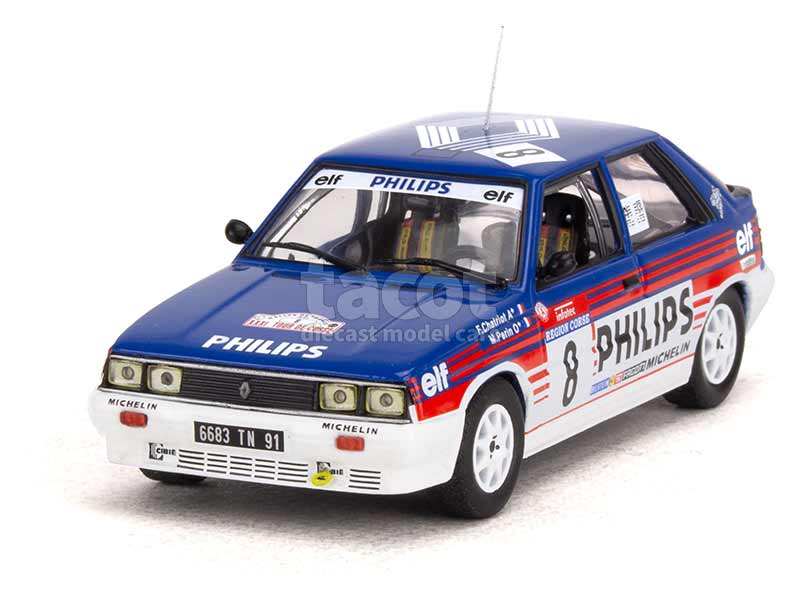 95685 Renault R11 Turbo Tour de Corse 1987