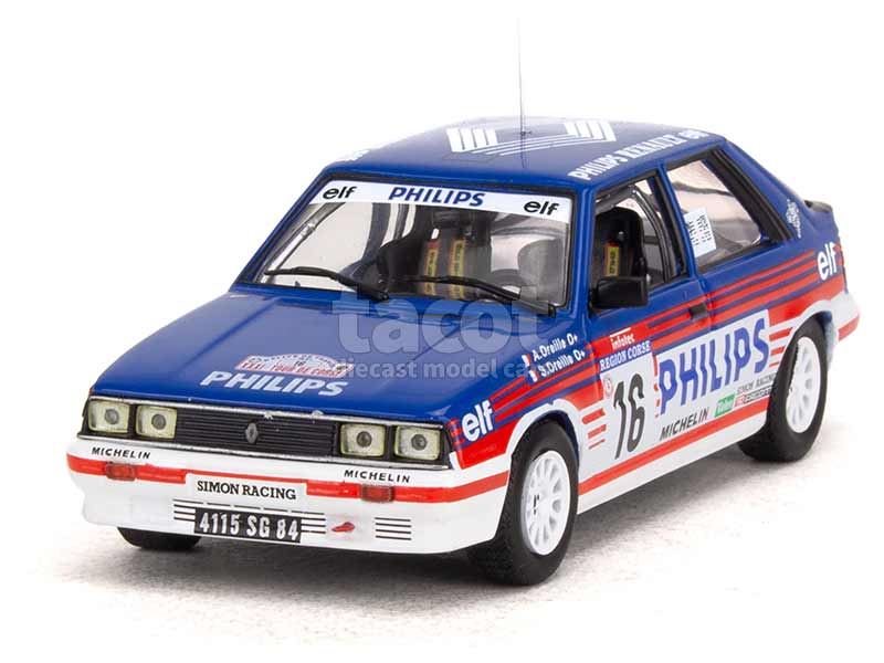 95686 Renault R11 Turbo Tour de Corse 1987