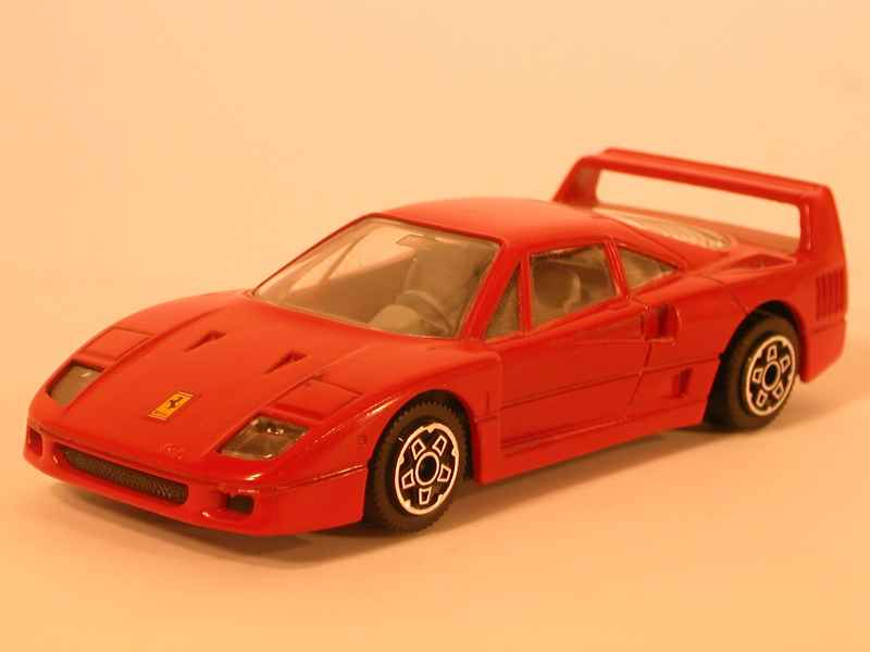 bburago ferrari f40 1 43 ebay. Black Bedroom Furniture Sets. Home Design Ideas