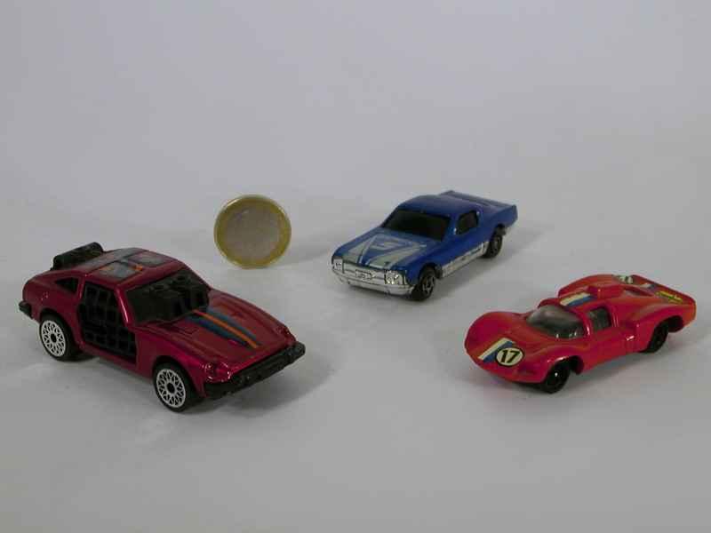 divers lot de 3 voitures divers autos miniatures tacot. Black Bedroom Furniture Sets. Home Design Ideas