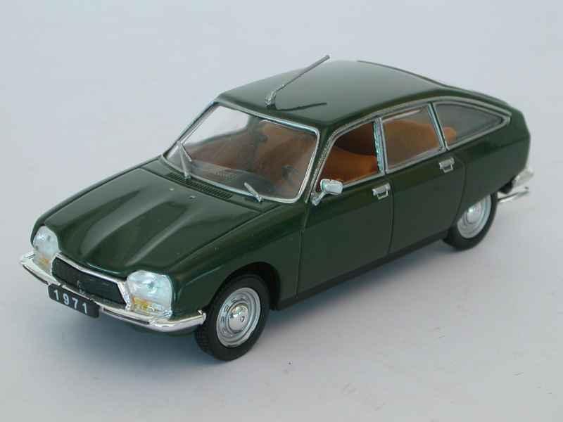 citro n gs 1971 mod le presse at 1 43 autos miniatures tacot. Black Bedroom Furniture Sets. Home Design Ideas