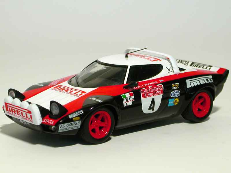 lancia stratos hf san remo 1978 x press al 1 43 autos miniatures tacot. Black Bedroom Furniture Sets. Home Design Ideas