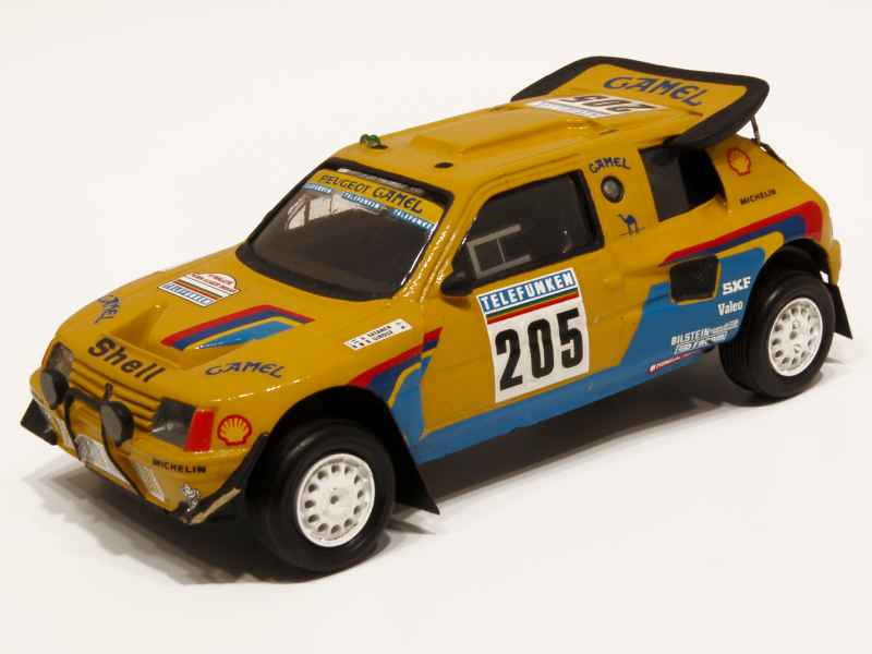 provence moulage peugeot 205 t16 paris dakar 1987 1 43 ebay. Black Bedroom Furniture Sets. Home Design Ideas