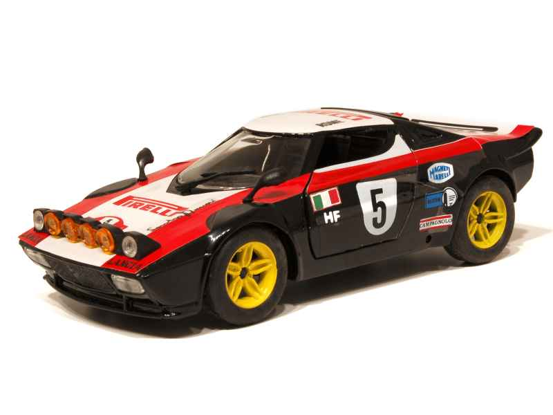 lancia stratos hf monte carlo polistil 1 25 autos miniatures tacot. Black Bedroom Furniture Sets. Home Design Ideas