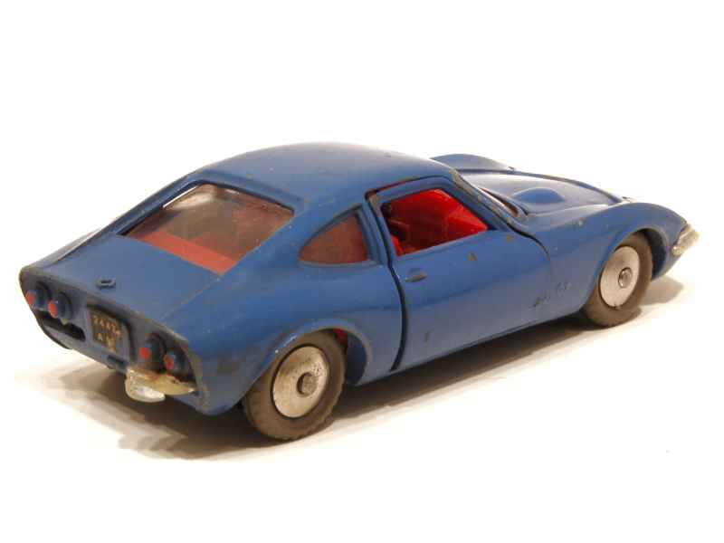 opel gt 1900 dinky toys france 1 43 autos miniatures tacot. Black Bedroom Furniture Sets. Home Design Ideas