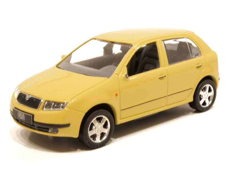 skoda fabia 2001 kaden 1 43 autos miniatures tacot. Black Bedroom Furniture Sets. Home Design Ideas