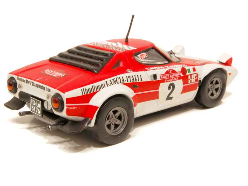 lancia stratos hf rallye san remo 1974 vitesse 1 43 autos miniatures tacot. Black Bedroom Furniture Sets. Home Design Ideas