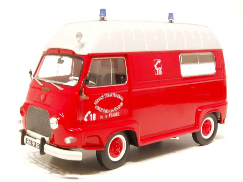 renault estafette pompiers 1968 norev 1 18 autos miniatures tacot. Black Bedroom Furniture Sets. Home Design Ideas