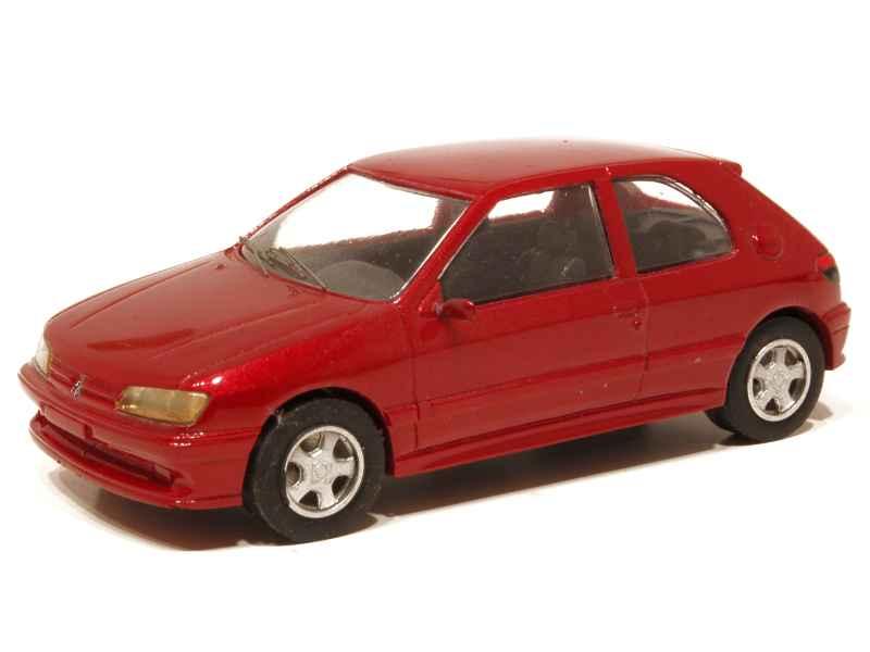 peugeot 306 s16 3 doors prestige 1 43 autos miniatures tacot. Black Bedroom Furniture Sets. Home Design Ideas