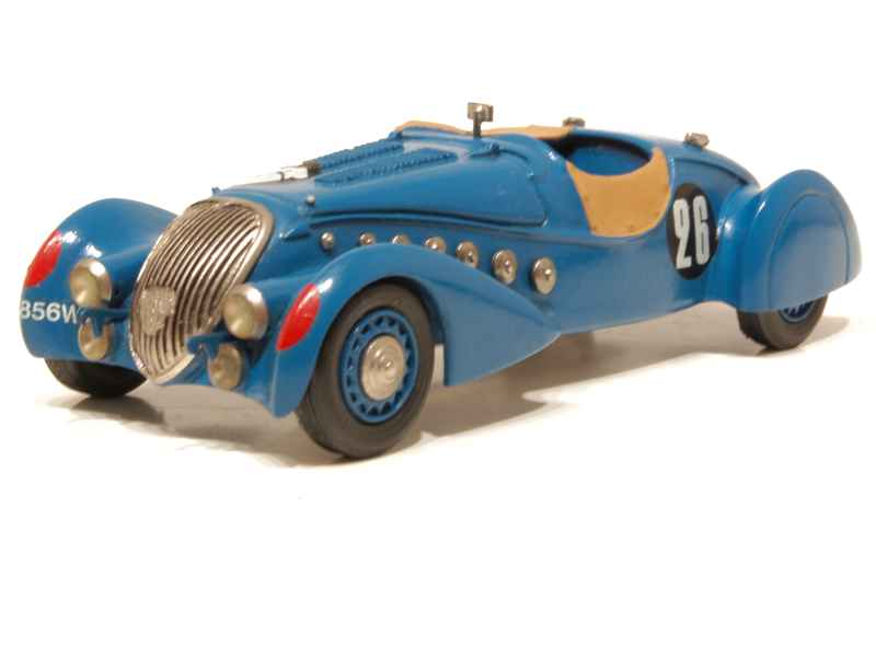 peugeot 402 darl 39 mat roadster le mans 1937 esdo 1 43 autos miniatures tacot. Black Bedroom Furniture Sets. Home Design Ideas