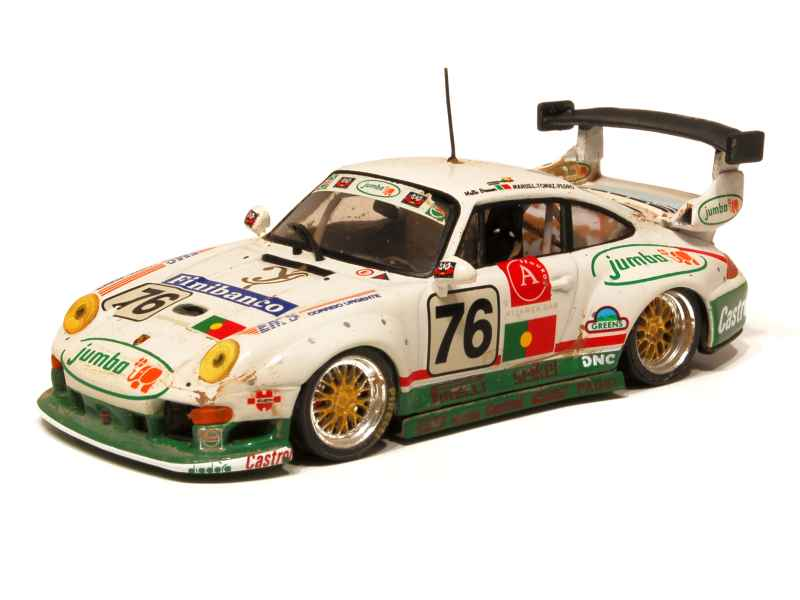porsche 911 993 gt2 le mans 1996 vitesse 1 43 autos miniatures tacot. Black Bedroom Furniture Sets. Home Design Ideas