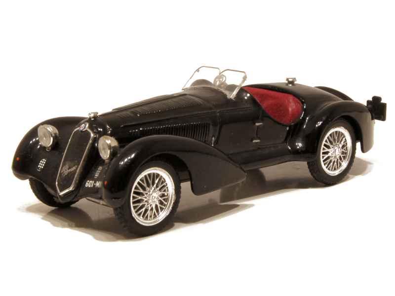 alfa romeo 2900b 8c brumm 1 43 autos miniatures tacot. Black Bedroom Furniture Sets. Home Design Ideas