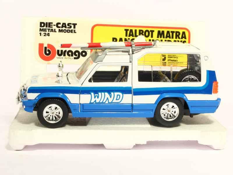 matra rancho holidays bburago italie 1 24 autos miniatures tacot. Black Bedroom Furniture Sets. Home Design Ideas